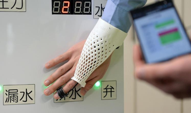 طالب يطور تقنية لدفع قيمة المشتريات بواسطة راحة اليد