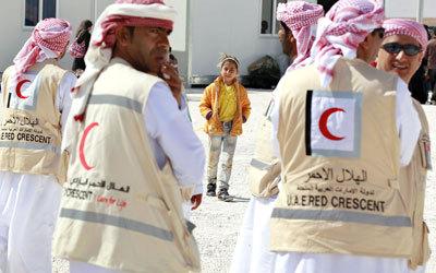الهلال الأحمر الإماراتي يدعم مستشفى خيري في القدس