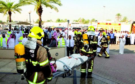 17 حالة إغماء بأحد المدارس في دبي