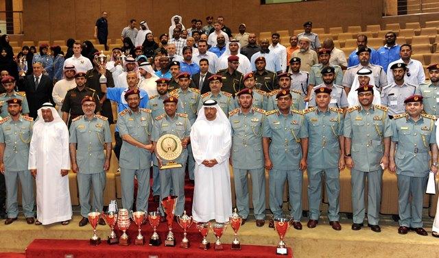 اتحاد الشرطة الرياضي يكرم المشاركين بالفعاليات الرياضية السابعة
