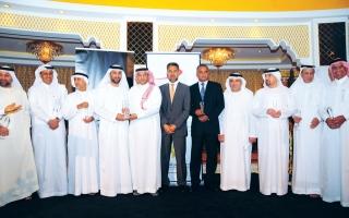 تكريم الفائزين بجائزة الشرق الأوسط للتميز