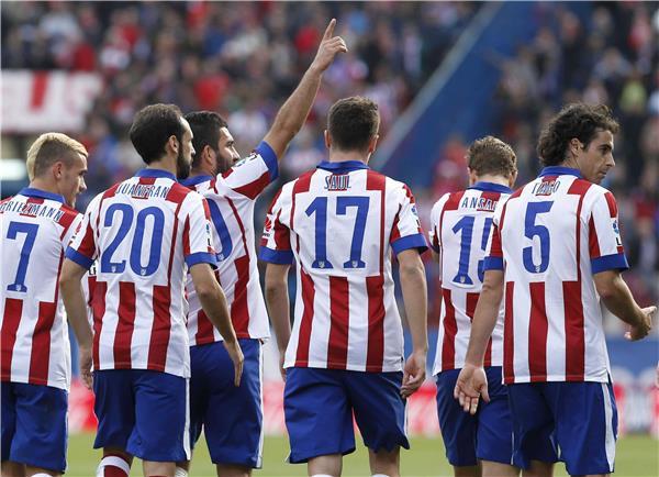 أتلتيكو مدريد يلتقي يوفنتوس غداً الثلاثاء بدوري الأبطال