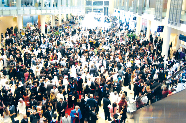 2.2 مليون زائر لفعاليات مركز دبي التجاري خلال 2013