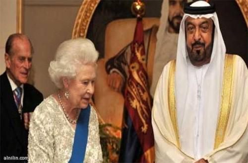 رئيس الدولة ونائبه وولي عهده يهنئون ملكة بريطانيا