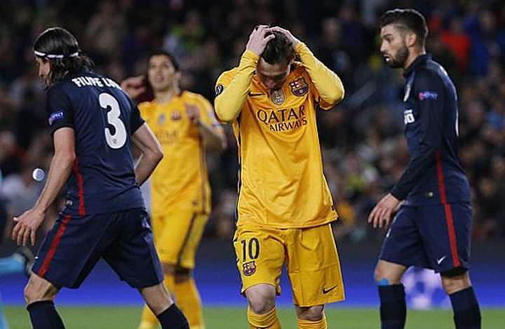 ثنائية جريزمان تطيح ببرشلونة حامل اللقب من دوري الأبطال (فيديو)