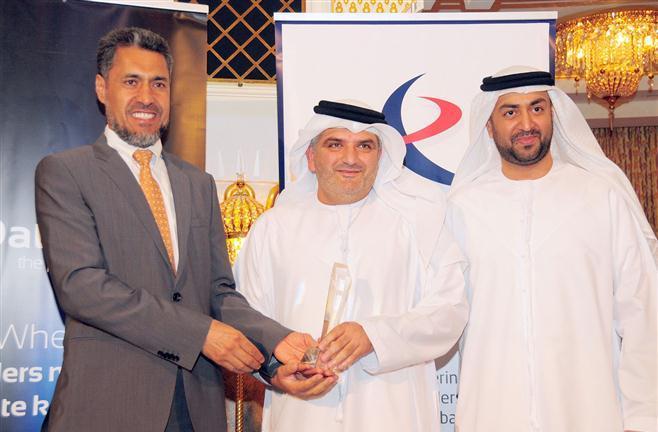 منح جائزة للرئيس التنفيذي لسوق أبوظبي للأوراق المالية 