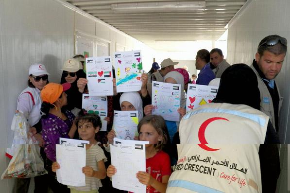 الإمارات تخصص 60 مليون درهم لصالح اللاجئين السوريين