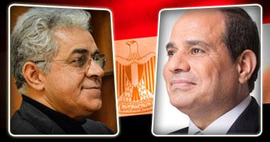 السيسي وصباحي المتنافسان الوحيدان لرئاسة مصر