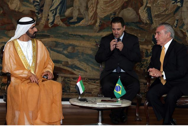 توقيع اتفاقية تعاون عسكري بين الإمارات والبرازيل