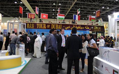 36 % من زوار دبي يأتون من خمس دول