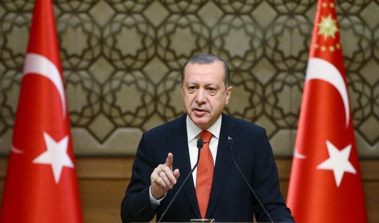 أردوغان: الدعوة لإغلاق القاعدة العسكرية في قطر مطالبة