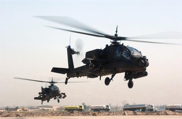 واشنطن تعطي مصر 10 مقاتلات أباتشي لمحاربة الإرهاب