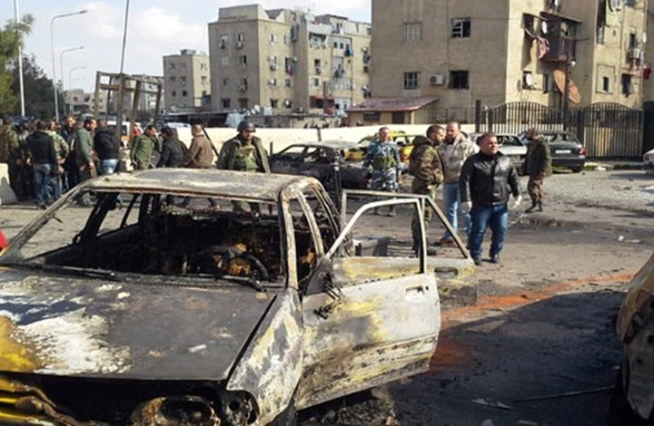 قتلى وجرحى بانفجار سيارة مفخخة في السيدة زينب بدمشق
