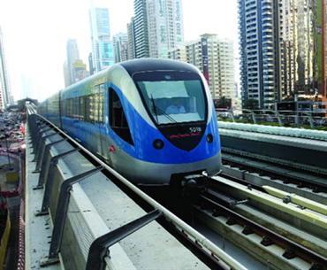 عطل فني يوقف مترو دبي ساعتين في 9 محطات