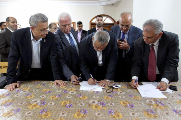 واشنطن تعبر عن خيبة أملها من اتفاق المصالحة الفلسطيني