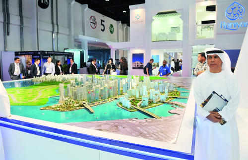 بلدية العين تعرض ستة مشاريع مختلفة في سيتي سكيب أبوظبي