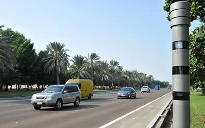 حجز 1469 سيارة في أبوظبي بسبب القيادة بسرعة زائدة
