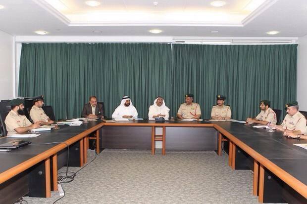 شرطة دبي والهلال الأحمر يبحثان آليات التعاون والشراكة