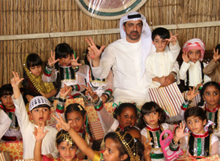إسعاف دبي تقيم حفلاً تراثياً