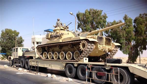 الجيش المصري يعلن سيطرته على الوضع في سيناء