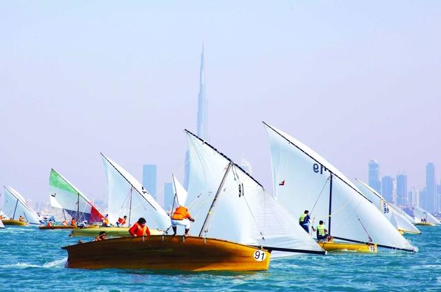انطلاق منافسات بطولة دبي للسفن الشراعية المحلية غدا