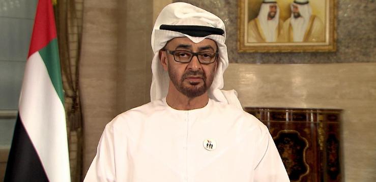 محمد بن زايد يتلقى رسالة شفوية من أمير الكويت
