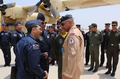 المقاتلات الأردنية تصل المنامة للمشاركة في تمرين جوي
