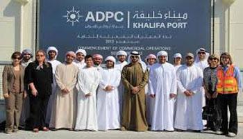 المرحلة الأولى لتطوير ميناء خليفة تسلم في الربع الأول من 2015