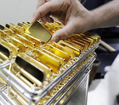 الذهب يسجل ارتفاعاً كبيراً في تداولات الأسبوع