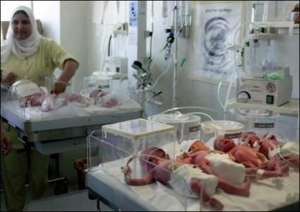 13500 مولود جديد في غزة خلال ثلاثة أشهر