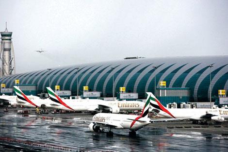 عدد مسافري مطار دبي تجاوز 18 مليون للربع الأول من 2014