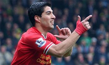 سواريز أفضل لاعب في الدوري الانجليزي