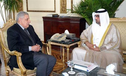 محلب يشكر الإمارات على الدعم الكبير لمصر منذ 30 يونيو