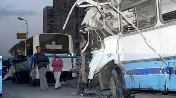 مصرع 30 شخصا في حادث مروري بمصر