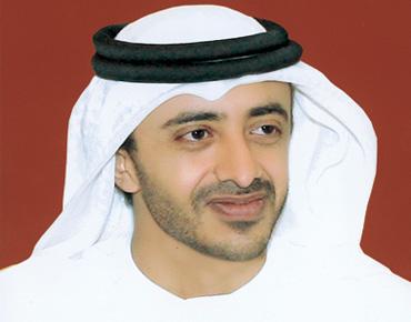 عبدالله بن زايد يبحث مع رئيس الأورغواي سبل تطوير العلاقات