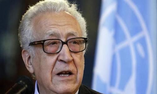الإبراهيمي: إجراء انتخابات رئاسية في سوريا سيقضي على مسار جنيف2