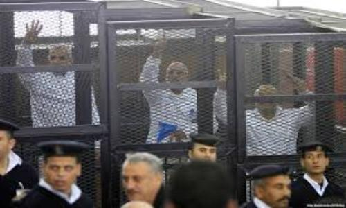 محكمة مصرية تحكم بإعدام 529 من الإخوان المسلمين