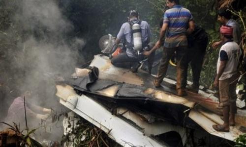 تحطم طائرة هندية بولاية ماديا براديش وسط البلاد