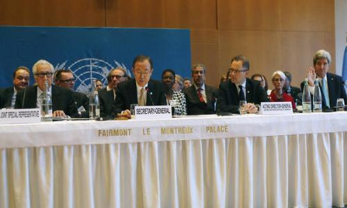 تحركات دولية لعقد مؤتمر جنيف 3 حول سورية