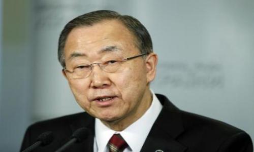 بان جي مون يبلغ مصر قلقه من أحكام الاعدام الجماعية