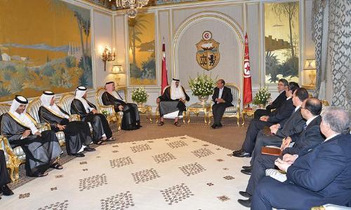 قطر وتونس تناقشان القضايا المشتركة بين البلدين