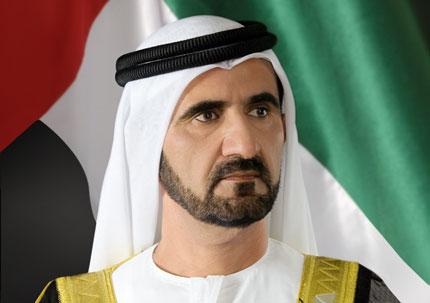 محمد بن راشد يكرم رئيس إقليم ماركيه الإيطالي
