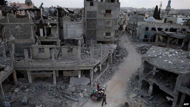 القاهرة تدعو لوقف اطلاق النار في غزة لمدة غير محددة