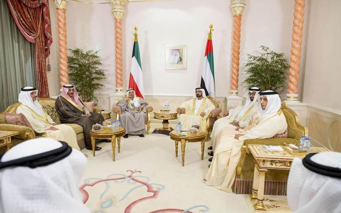 أمير الكويت يتوجه إلى قطر بعد زيارته للإمارات
