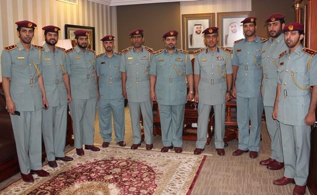 إصلاحية الداخلية تقلد 11 ضابطاً رتباً جديدة
