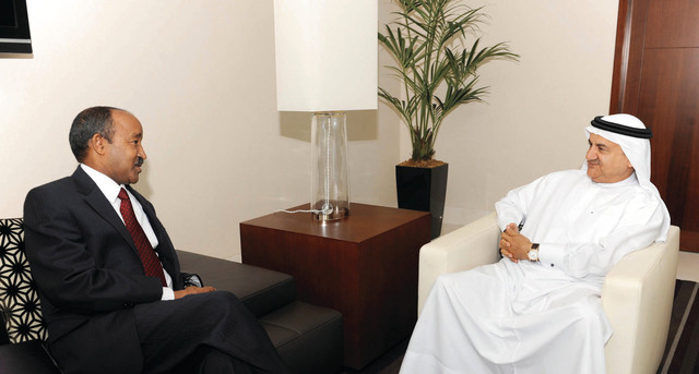 الخارجية تناقش التعاون الثنائي مع أثيوبيا