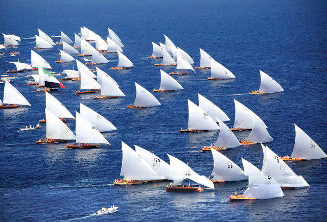 إنشاء نادي الشارقة الدولي للرياضات البحرية
