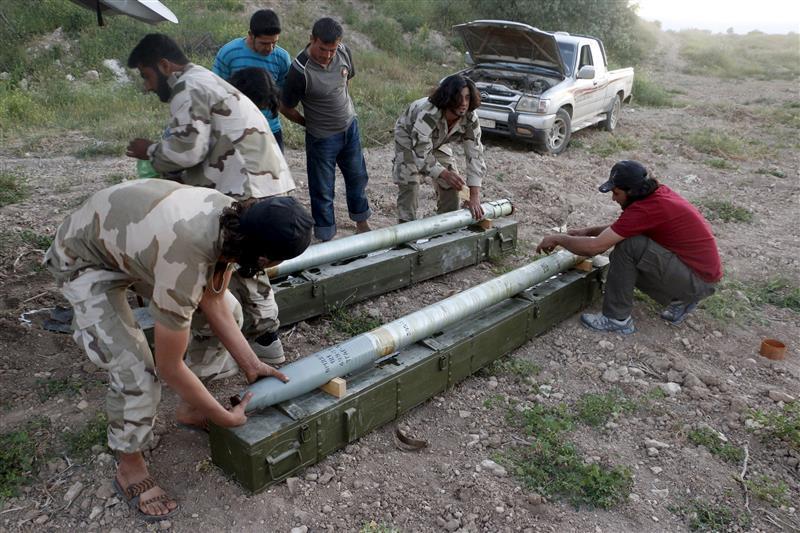 المعارضة السورية تحصل على صواريخ غراد لصد هجوم حلب