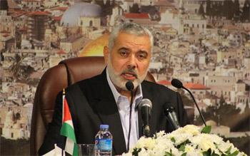 هنية يطالب الجامعة العربية بتبني إستراتيجية للتمسك بالأرض والدفاع عن ا