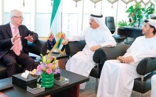 مباحثات اقتصادية بين الإمارات ونيوزلندا
